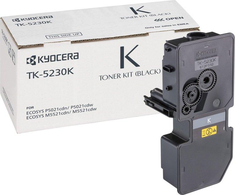 KYOCERA 1T02R90NL0 (TK-5230 K) Toner black, 2.6K pages