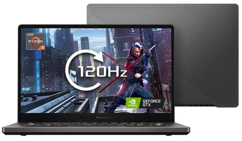 Image of ASUS ROG Zephyrus G14 Ryzen 5 8GB 512GB SSD GTX 1650Ti Win10 Home Gaming Laptop