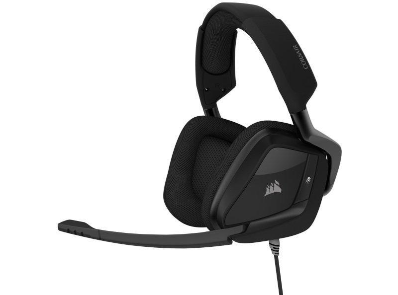 Corsair Void Elite Surround Gaming Headset - Carbon - Refurbished by Corsair