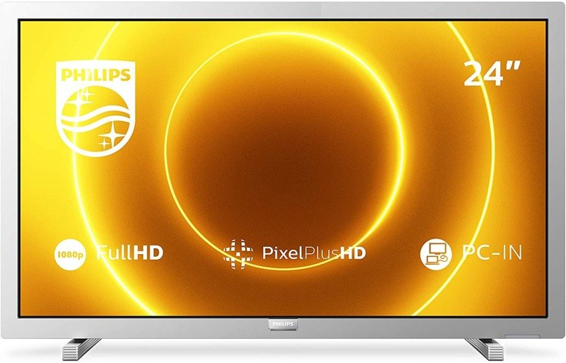 "Philips 24PFS5525/12 24"" Full HD LED TV with Pixel Plus HD - Silver"