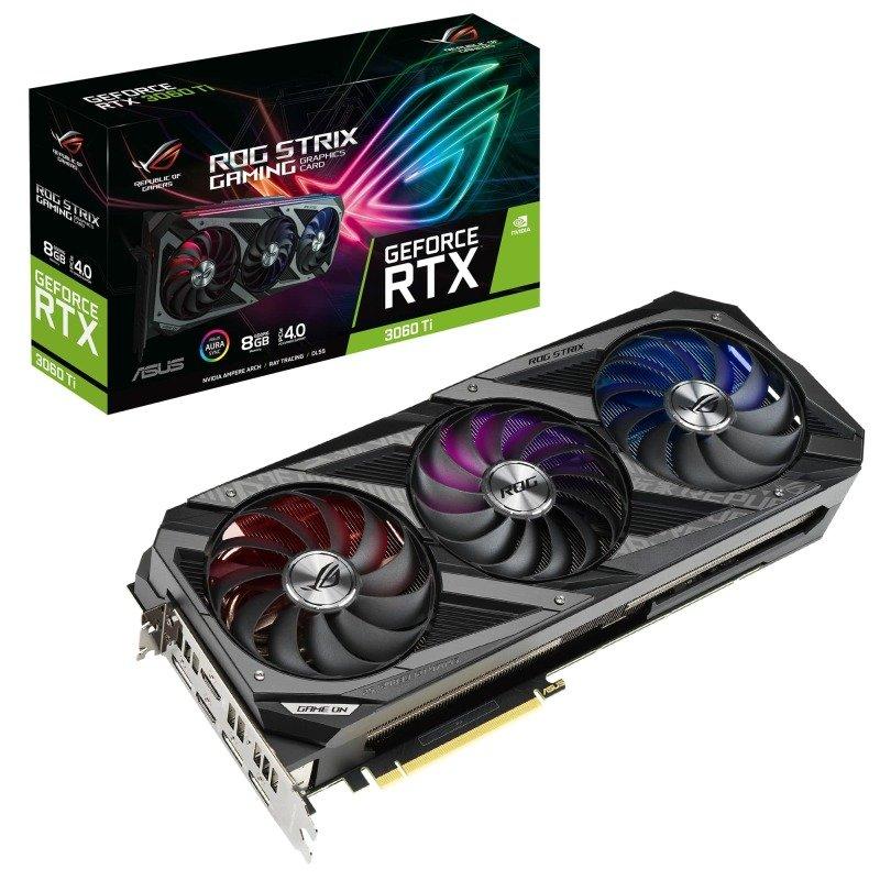 Asus GeForce RTX 3060 Ti 8GB ROG STRIX Ampere Graphics Card