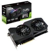 Asus GeForce RTX 3060 Ti 8GB GDDR6 DUAL OC Ampere Graphics Card