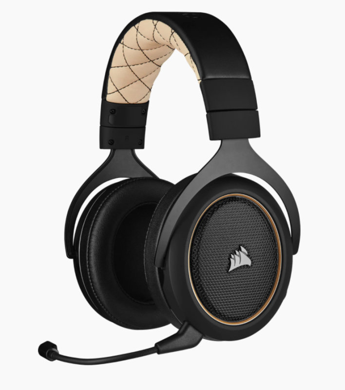 Corsair HS70 Pro Wireless Gaming Headset - Cream
