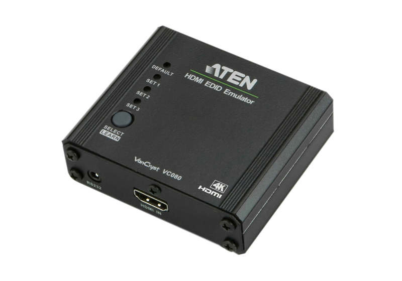 EXDISPLAY Aten VC080 4K HDMI EDID Emulator with Programmer