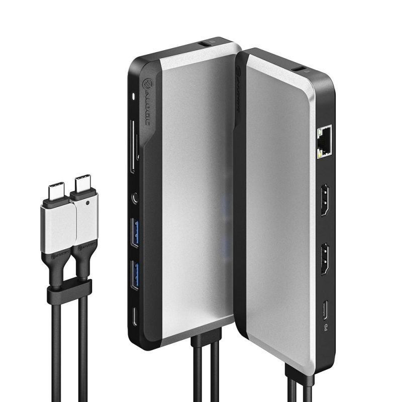 Image of ALOGIC USB-C Super Dock - 10-in-1 with Dual Display