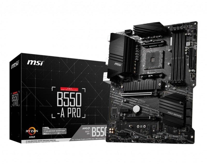 EXDISPLAY MSI B550-A PRO DDR4 ATX Motherboard