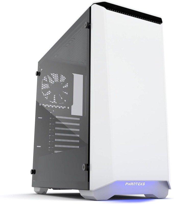 Phanteks Eclipse P400 Glass Midi Tower Case - White
