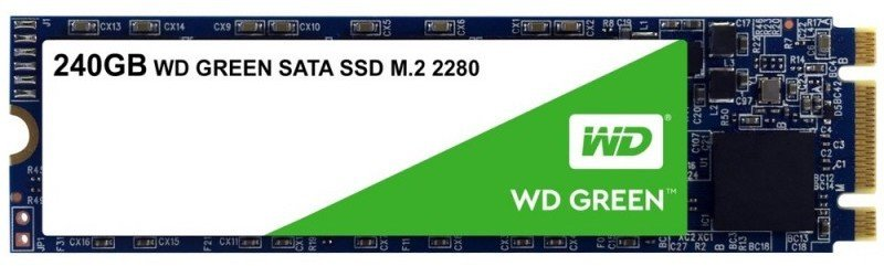 Image of WD Green M.2 SSD 240GB 7mm SATA Gen 3