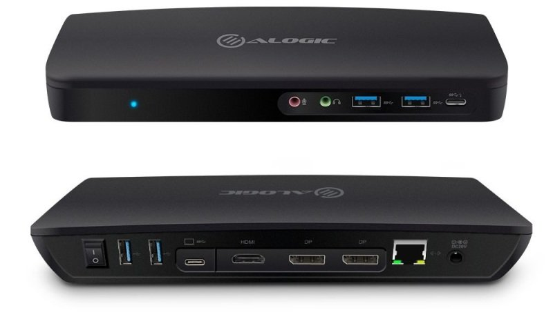 ALOGIC Triple Display UNIVERSAL Hybrid Docking Station - USB-C & USB 3.0 with 4K and Power Delivery