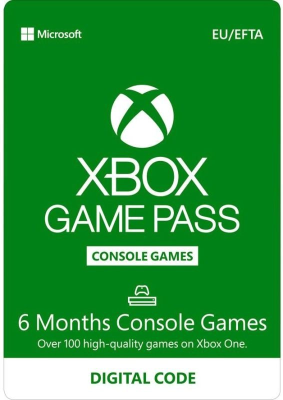 Xbox Game Pass for Console - 6 Month - Digital Download