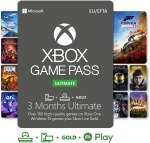 Xbox Game Pass Ultimate | 3 Month Membership | Xbox / Win 10 PC - Download Code