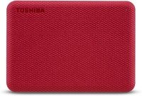 Toshiba 1TB Canvio Advance Portable Hard drive USB 3.2 Gen 1 With Automatic Backup,Red