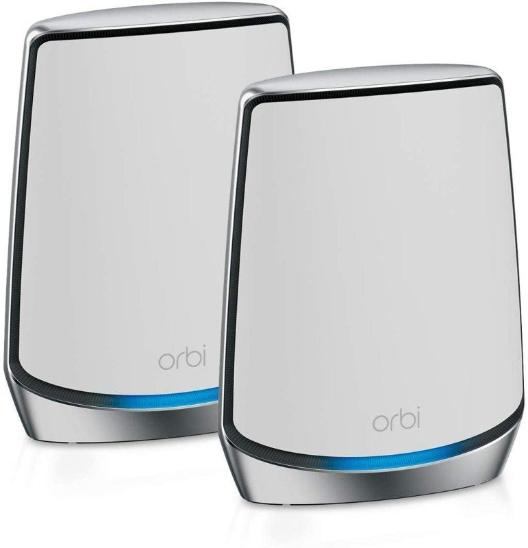 NETGEAR Orbi WiFi 6 Mesh System AX6000 (RBK852) | WiFi 6 Router with 1 Satellite Extenders