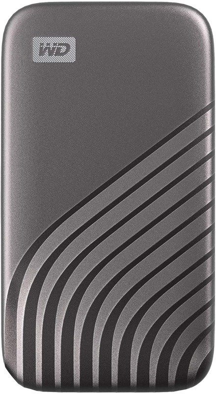 WD 500GB My Passport SSD - Portable SSD, up to 1050MB/s Read and 1000MB/s Write Speeds, USB 3.2 Gen 2 - Space Gray