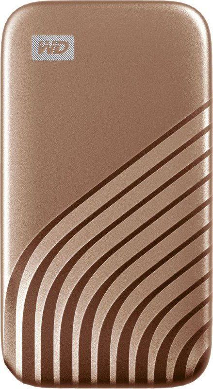 WD 2TB My Passport SSD - Portable SSD, up to 1050MB/s Read and 1000MB/s Write Speeds, USB 3.2 Gen 2 - Gold