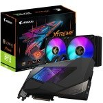 Gigabyte GeForce RTX 3080 10GB GDDR6X AORUS XTREME WATERFORCE Ampere Graphics Card