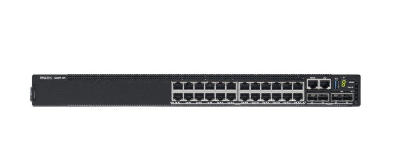 Dell EMC PowerSwitch N2200-ON Series N2224X-ON - Switch - 24 Ports - Managed - Rack-mountable - CAMP