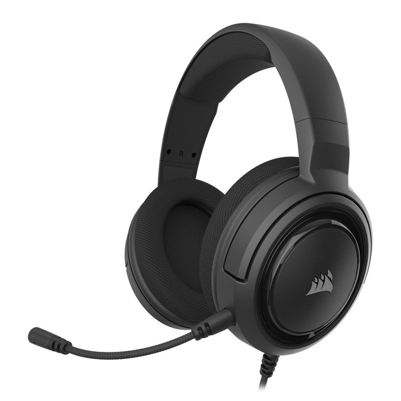 Corsair HS35 Black Stereo PC/Console Gaming Headset - Refurbished By Corsair