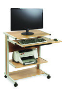 Compact Fixed Height Mobile Workstation