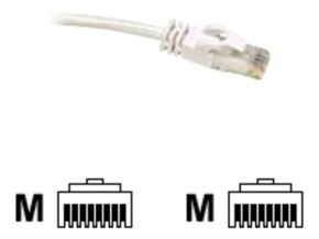C2G, Cat6 550MHz Snagless Patch Cable White, 1.5m