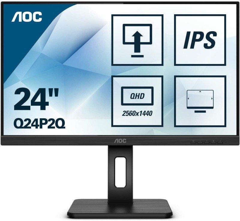"AOC Q24P2Q 24"" QHD IPS Monitor"