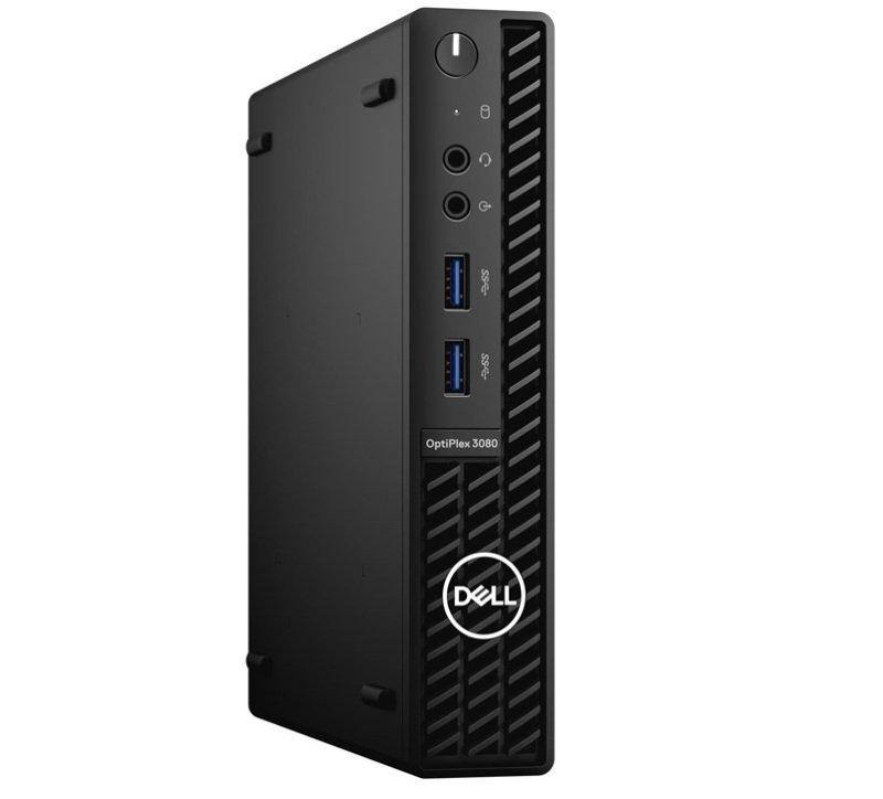 Dell OptiPlex 3080 MFF Core i3 10th Gen 4GB RAM 128GB SSD Win10 Pro Desktop PC
