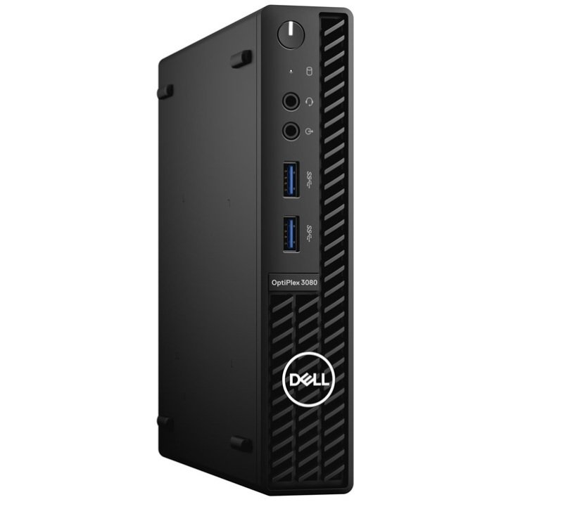 Dell OptiPlex 3080 MFF Core i5 10th Gen 8GB RAM 256GB SSD Win10 Pro Desktop PC