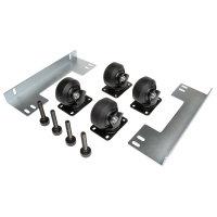Tripp Lite SmartRack Heavy-Duty Rolling Caster Kit - 4 Pack