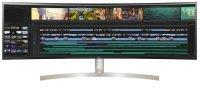 """LG UltraWide 49WL95C-WE 49"""" Ultra HD 5K Curved Monitor"""