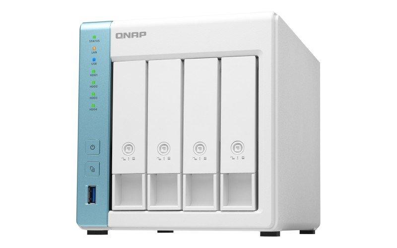 QNAP TS-431K 24TB (4 x 6TB WD RED) 4 Bay Desktop NAS Unit