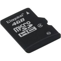 Kingston 4GB MicroSDHC Card