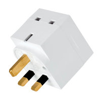 Tripp Lite PS1B - 2-Outlet Power Strip - British BS1363A Outlets