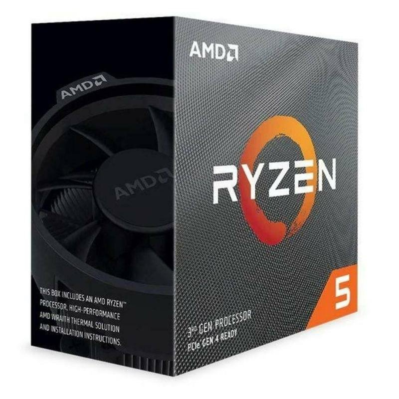 AMD Ryzen 5 3500X AM4 Processor with Wraith Stealth Cooler