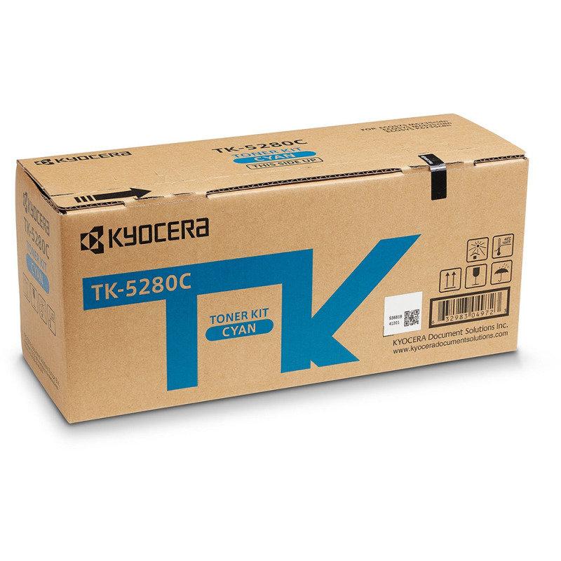 Kyocera Toner Cartridge Cyan Tk-5280c