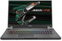 "Gigabyte Aorus 17G Core i7 32GB 512GB SSD RTX 3070 MaxQ 17.3"" Win10 Home Gaming Laptop"