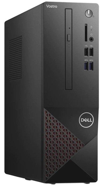 Image of Dell Vostro 3681 SFF Desktop PC, Intel Core i3-10100 3.6GHz, 8GB RAM, 256GB SSD, DVD, Intel UHD, WIFI, BT, Windows 10 Pro