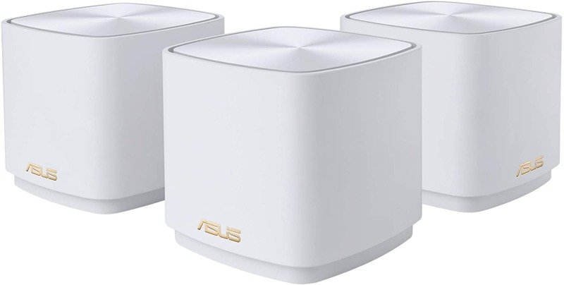 Asus ZenWiFi AX Mini XD4 - AX1800 Wireless Dual Band Mesh Mini System - 3 PACK