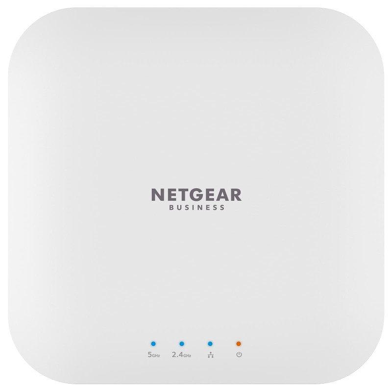 NETGEAR Wireless Desktop Access Point (WAX214), Wi-Fi 6 Dual-Band AX1800 Speed, 1 x 1G Ethernet PoE