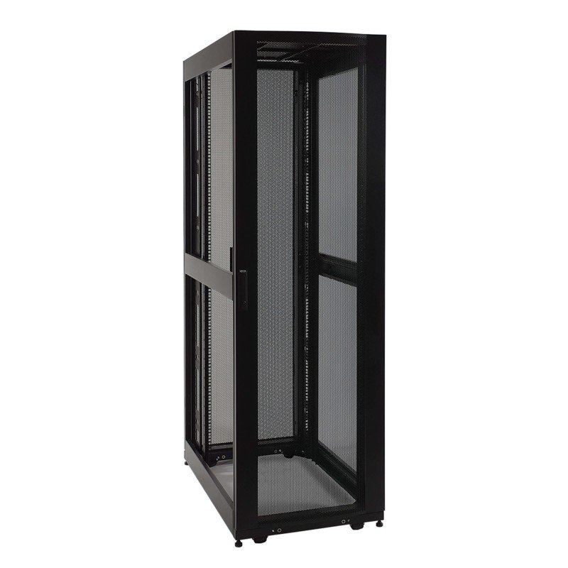 Tripp Lite 42U Deep Server Rack - Freestanding - Side Panels Not Included