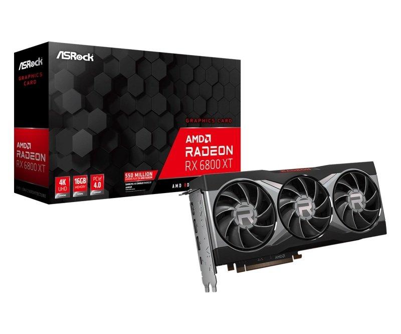 ASRock Radeon RX 6800 XT 16GB Graphics Card