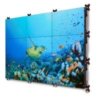 """Barco 55"""" UniSee Display - Bezel-less Tiled LCD Video Wall Platform"""