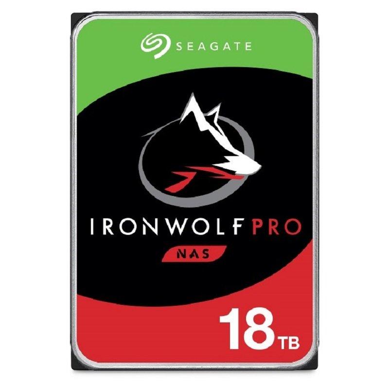 "Seagate IronWolf Pro 18TB NAS Internal Hard Drive - CMR 3.5"" SATA 6Gb/s 7200 RPM 256MB Cache"