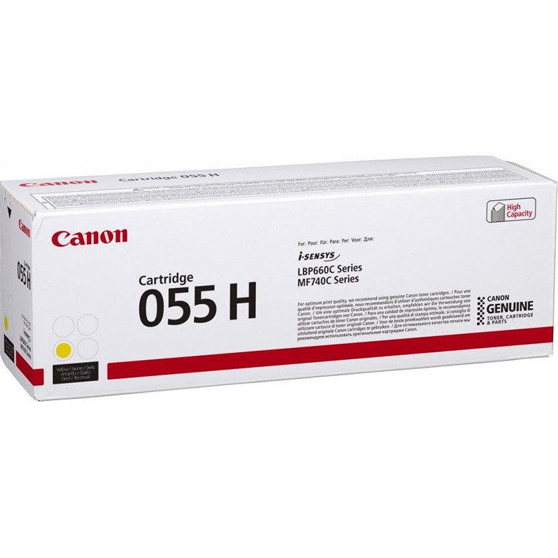 Canon 055 High Yield Yellow Toner Cartridge
