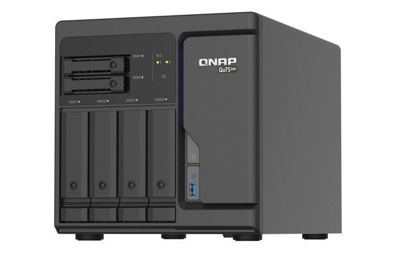 QNAP TS-h686-D1622-8G - 6 Bay Desktop NAS Enclosure w/ 8GB RAM