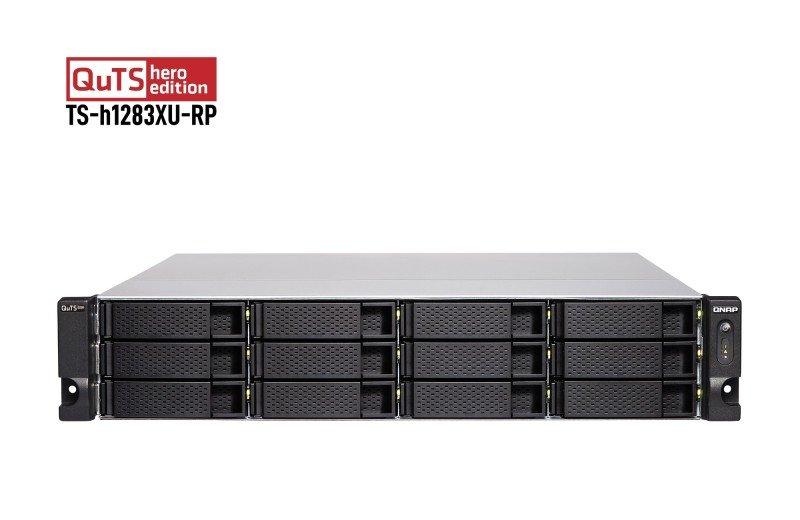 QNAP TS-h1283XU-RP-E2236-32G - 12 Bay Rack Enclosure with 32GB RAM