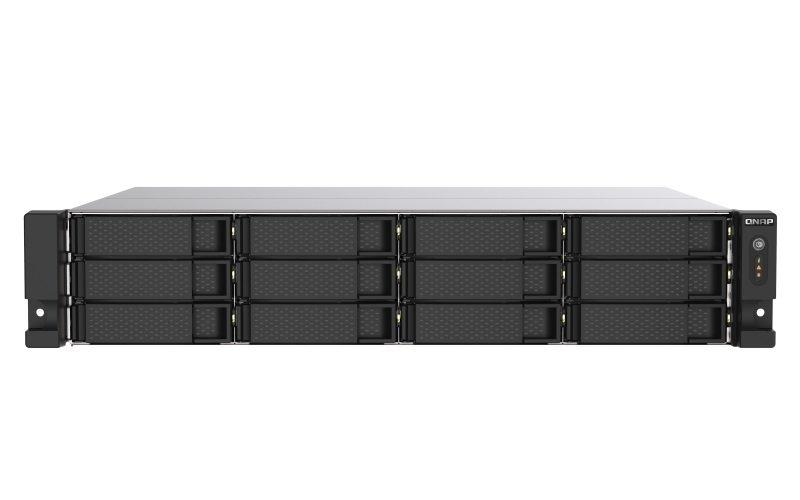 QNAP TS-1273AU-RP-8G - 12 Bay Rack Enclosure with 8GB RAM