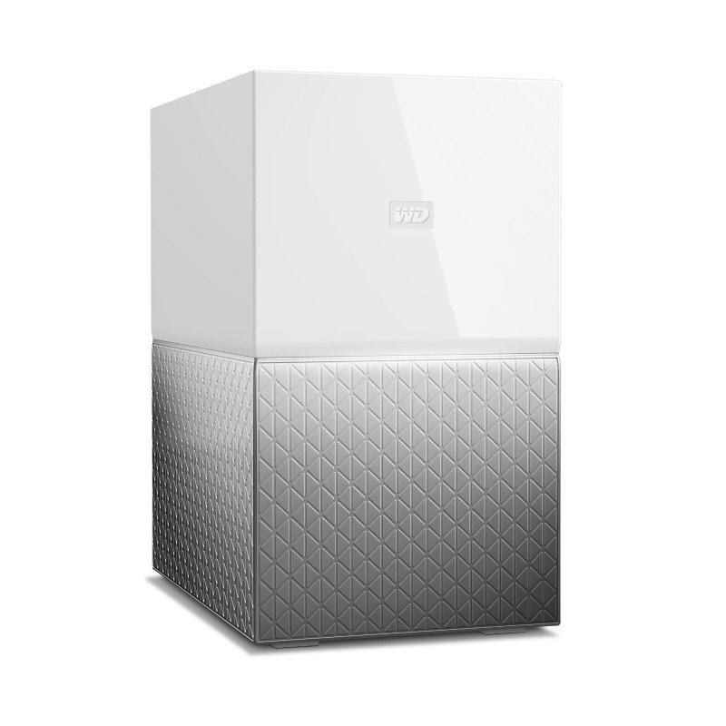 WD My Cloud Home Duo WDBMUT0200JWT-EESN 2 Bay NAS Storage System Desktop