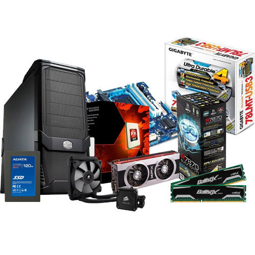 AMD Gaming PC Build
