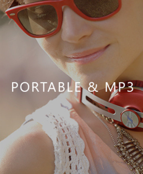 Sennheiser Portable & MP3 Headphones