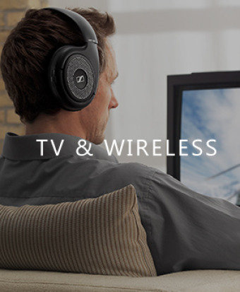 Sennheiser TV & Wireless Headphones